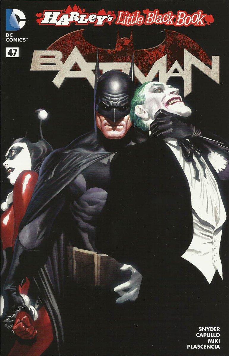 Harley's little black book! The variant cover to Batman # 47 by Alex Ross. #alexross #scottsnyder #gregcapullo #dannymiki #fcoplascencia #batman #joker #harleyquinn #dccomics #thecosmiccomicbookbroadcast #comicbookbroadcaster #ICON #comicbooks pic.twitter.com/QH0gNcLw8s