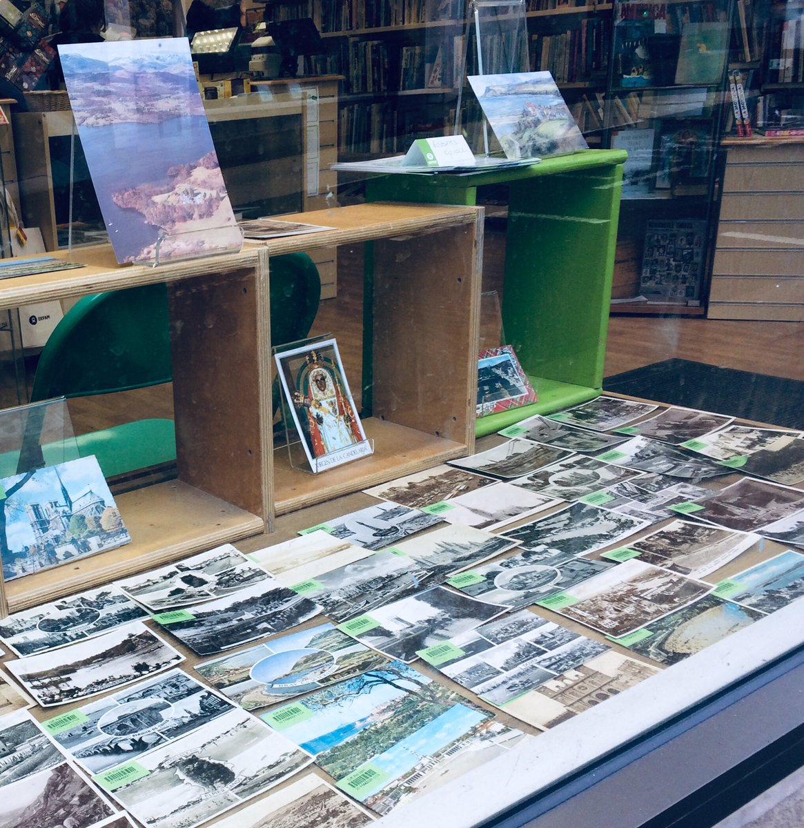 Collecting postcards?..  take a peek at these #Oxfam #Hexham #hobbies pic.twitter.com/xMlAyquFes