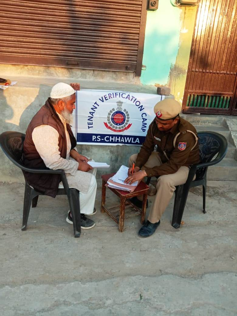 Tenant verification camps organised in different areas of Dwarka district during #DelhiPoliceWeek @CPDelhi@DelhiPolice@LtGovDelhi