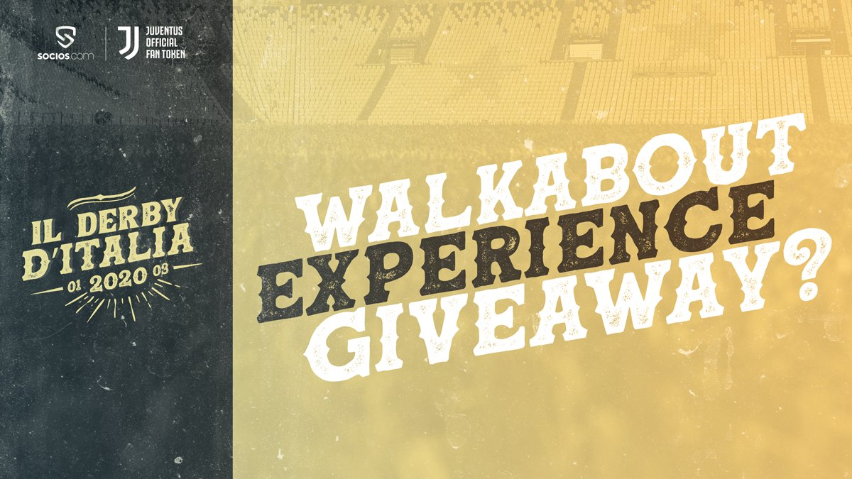 Bianconeri, get ready for a challenge.  If this tweet gets 1000 RT's and 1000 likes, we will do a Walkabout Experience giveaway for @juventusfc vs Inter.   What's a Walkabout Experience?👇  http://bit.ly/SociosWalkabout