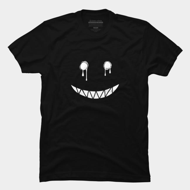 Fake Smile @designbyhumans by @Boby_Berto https://www.designbyhumans.com/shop/t-shirt/fake-smile/268390…#smile #white #fake #scary #evil #illustration #dripping #melting #teeth #tshirt #tshirts #clothing #art