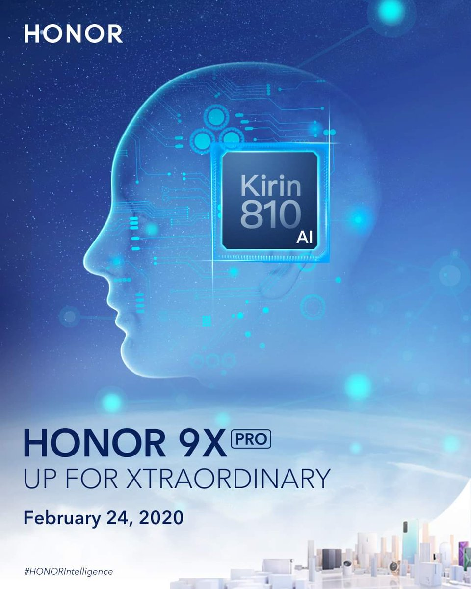 #honor #Honor9XProHonor 9x Pro With Kirin 810 SoC Will Launch Globally On 24 February...
