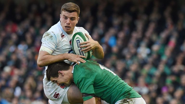 test Twitter Media - 🏴 Ford: Stopping Sexton not enough against Ireland ☘️  George Ford says stopping Johnny Sexton will not be enough for @EnglandRugby to beat Ireland at Twickenham: https://t.co/oFs5LMwzPh https://t.co/SrYY8oZzfe