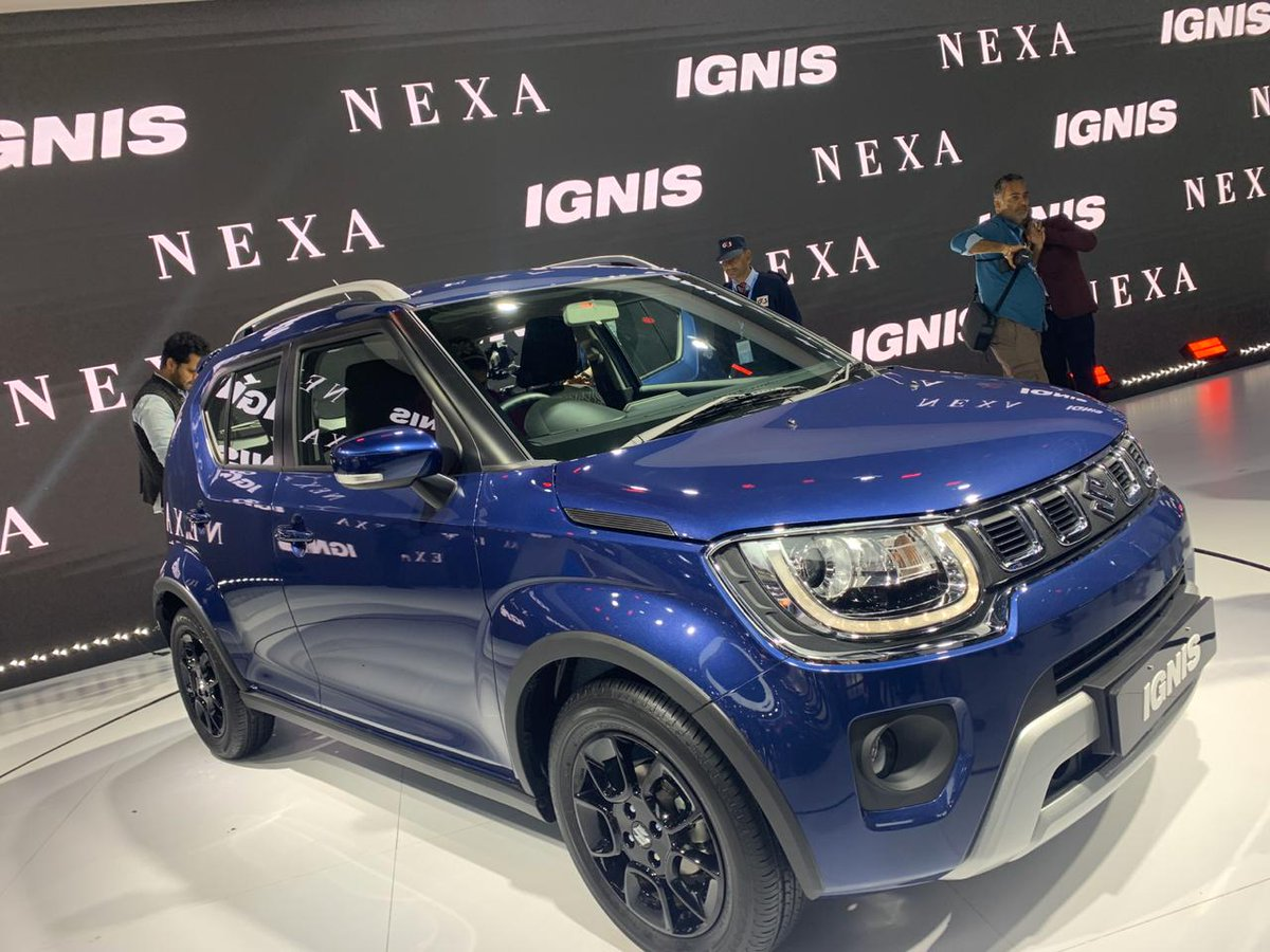 2020 #MarutiSuzuki #Ignis facelift with #BS6 engine launched at INR 4.89 lakh: https://shifting-gears.com/2020-maruti-suzuki-ignis-facelift-with-bs6-engine-launched-at-inr-4-89-lakh/…pic.twitter.com/DH82O5MUyv