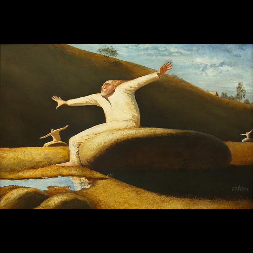 Андрей Мещанов «Полет» Одна из главных работ Андрея (для меня). Жду возможности вернуть ее в качестве заставки на свою страницу.      http://www.msh.ru/ https://www.facebook.com/andrey.meshchanov… https://www.facebook.com/mshru-292739567592254/… https://www.instagram.com/sergey_malitsky/… #Meshchanov #Painting #Artist #Мещанов #Художникpic.twitter.com/6GNndp6GpY