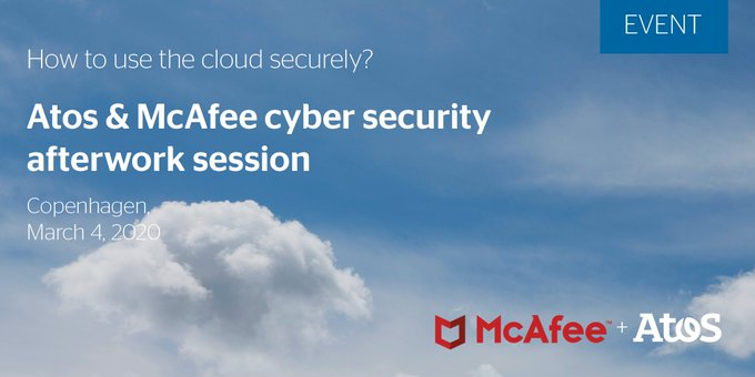 We are very proud to be the first partner certified by #McAfee SIA for...