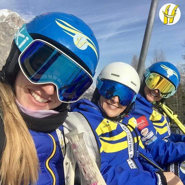 Buongiorno dalle Maestre Happy Ski!