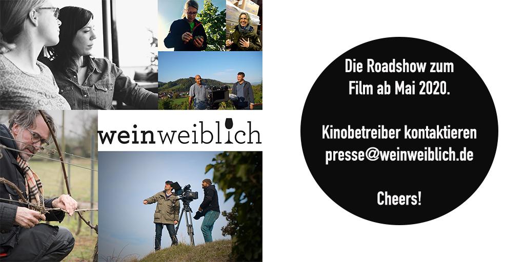 #weinweiblich #kino #cinema #cine #film #movie #bioscoop #doku #frauen #wein #wine #wijn #vin #winzerin #weingut #kinotipp #roadshow #filmleute #kinobetreiber #Mai #event #openairkino #sommerkino #riesling #weinkritiker #winemaker #weine #wineloverspic.twitter.com/QOquUTmm7k