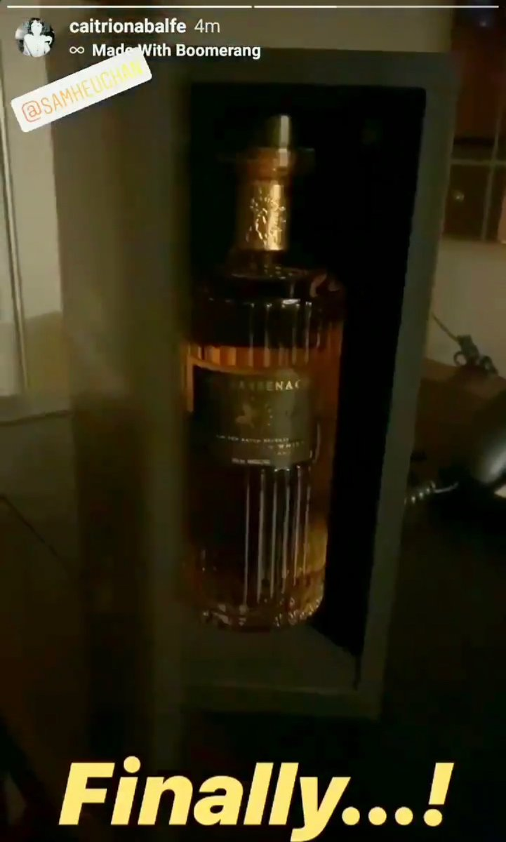 The best bottle goes to The Sassenach ❤️🥃😊