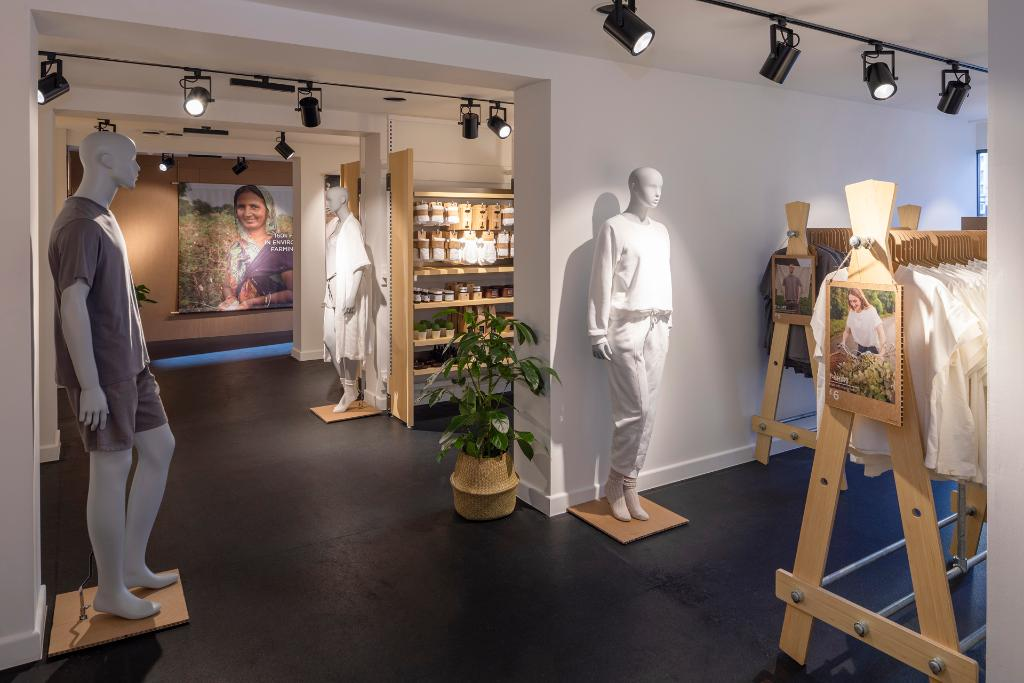 Introducing our first ever pop-up store at @boxpark Shoreditch. You can exclusively shop our new Wellness range which features products made from either organic cotton, recycled materials or sustainable materials 🌿 Open from today until 8th March #primarkcares