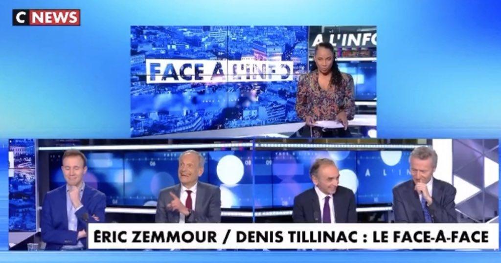 Bonjour les amis.  J'ai vu vos demandes à propos de l'émission #facealinfo sur @cnews . Une selection cette semaine d'excellents moments de #faceaface et dès lundi retour à la formule habituelle avec l'équipe au completpic.twitter.com/ReublFHAZL