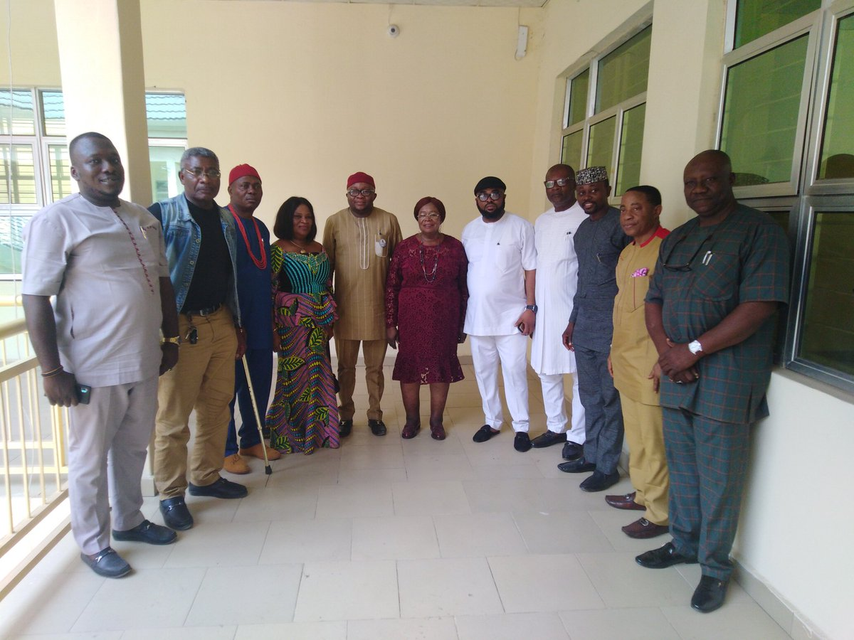 Rt. Hon. Ugonna Ozurigbo Visits IMSU VC, Prof Adaobi Obasi  #Education #ImoState #School #CleanImsu #EducationForAllpic.twitter.com/BHdqF3gKf8