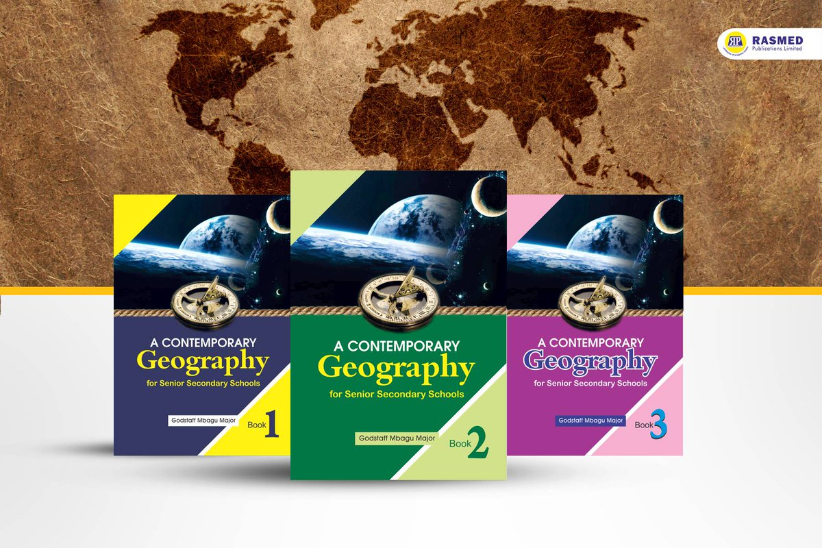 Rasmed publications' A Contemporary Geography For Senior Secondary Schools presente Geography in a way students can comprehend, with exciting visuals to inspire a curiosity about people and the earth.   #Geography #Books #Read #Education #Publishingpic.twitter.com/HHpIAZTq5v