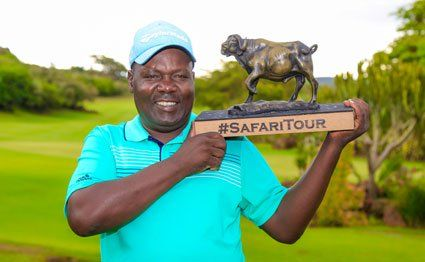 Dismas Indiza, one of the two professionals under the #sponsorship of Johnnie Walker, is back at the helm of the 2019/20 #SafariTour golf series after finishing second in the Kitante Open held at the par 72 Uganda Golf Club course at the weekend http://bit.ly/323cLzDpic.twitter.com/b9t3rCaLWB
