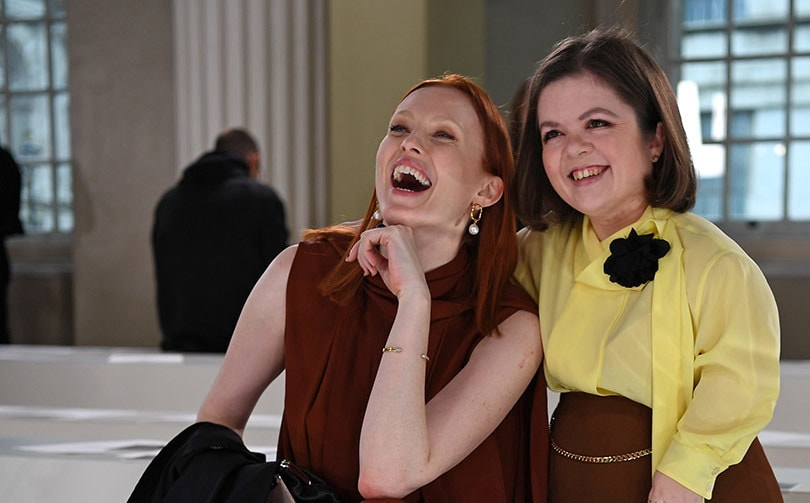 #LFW2020 #SINEAD_BURKE 'Despite her tiny stature, Sinead Burke has become a force to be reckoned with in the world of fashion, pushing for designs to become accessible for all. The 29-year-old Irishwoman, just 1.05 metres tall, has not gone unnoticed at London Fashion Week'pic.twitter.com/0QgRpkPf9x