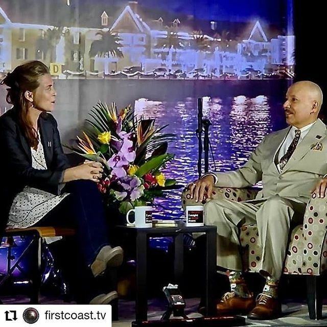 #Repost @firstcoast.tv • • • • • • Can't make tomorrow's episode of The St. Augustine Tonight Show at the Corazon Cinema and Café? No worries! We stream LIVE every Tuesday night at 7pm to Facebook:   Sharing is caring…be sure to like, follow, and …