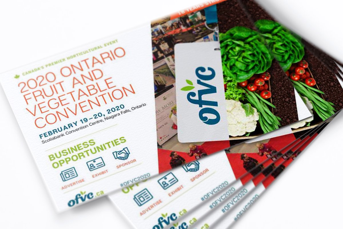 We look forward to speaking with members of Canada's horticulture community at this week's #OFVC2020 ! We are proud to support our local crop producers and help them get their product to market in a clean, high graphic, recyclable #corrugated container. Come see us at booth #729! https://t.co/ZpDCTSARc9