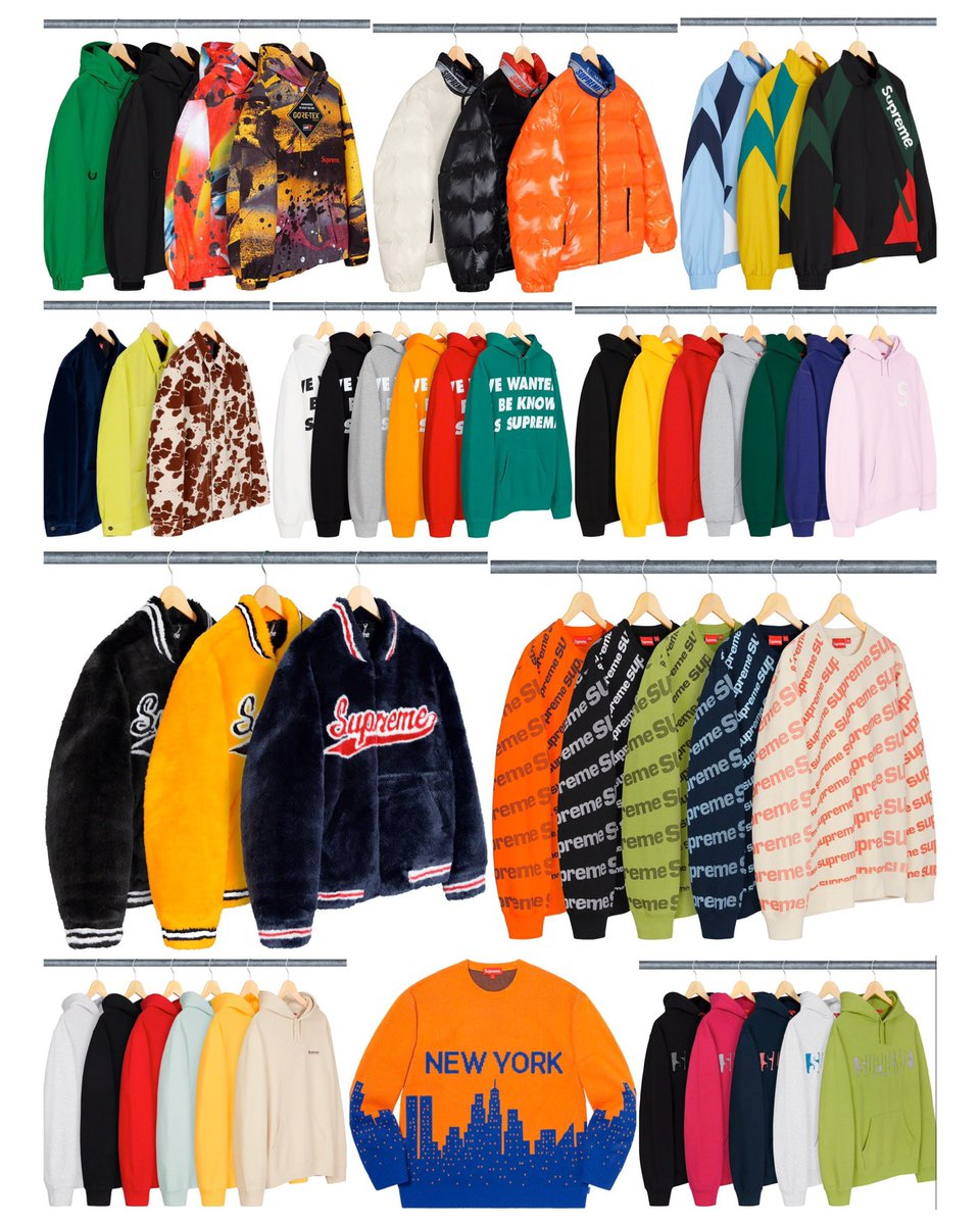Supreme Week 1 Droplist  All this and more is set to drop this coming Thursday February 20th In Store and then again Online Thursday February 27th. As usual we have a huge week one drop with tons of different pieces, but which ones are you after?