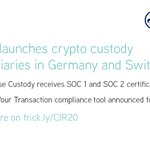 Image for the Tweet beginning: We have extended our #CryptoIndustryReport