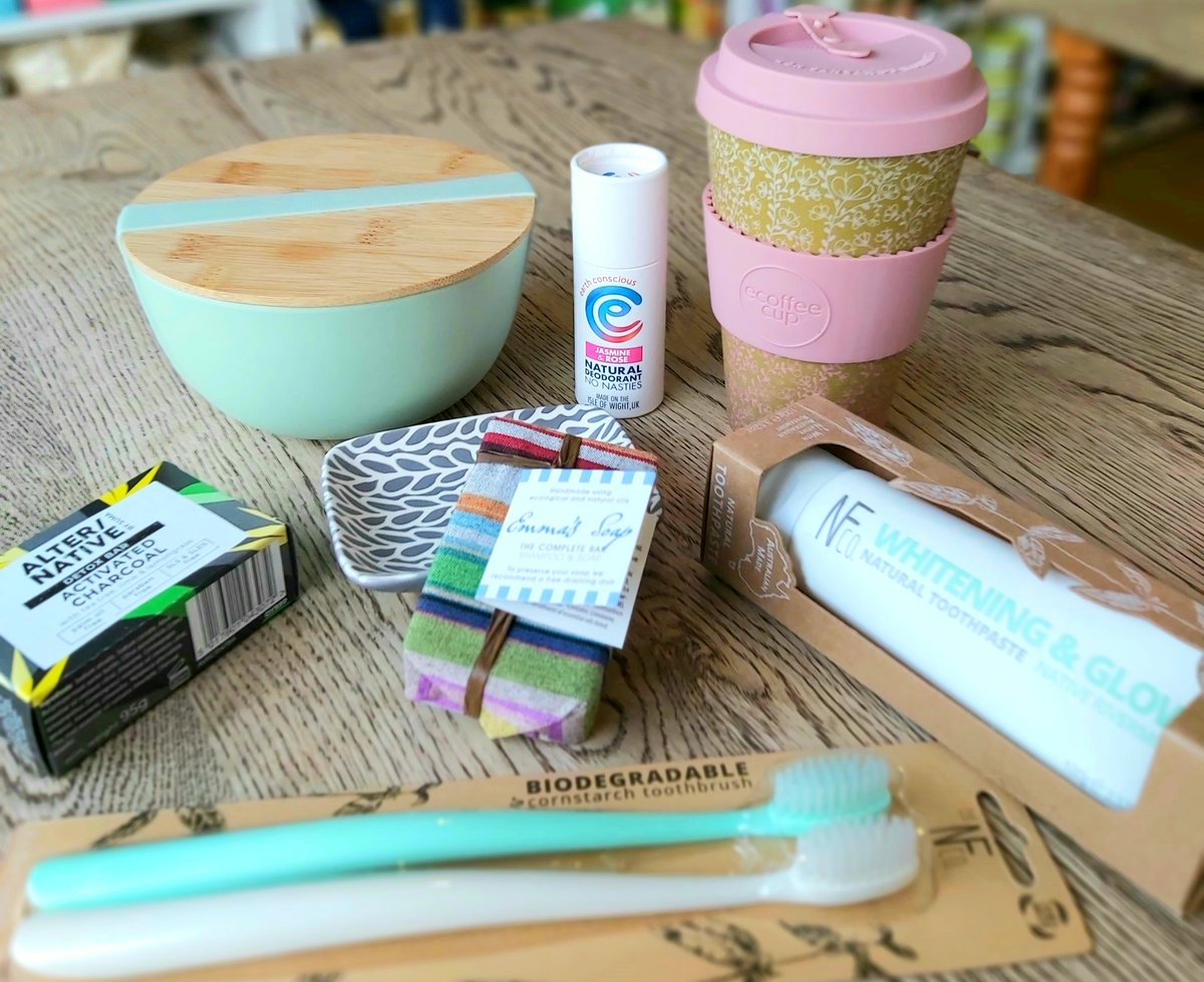 Our #giveaway this month is this super bundle of #ecofriendly products (worth over £50). To enter, just FOLLOW us, RT & TAG a friend. UK only. And you can find lots of #zerowaste and #refillable products in store too! #Goodluck #contest #prize #giveaway #winpic.twitter.com/v49l2A9Boe