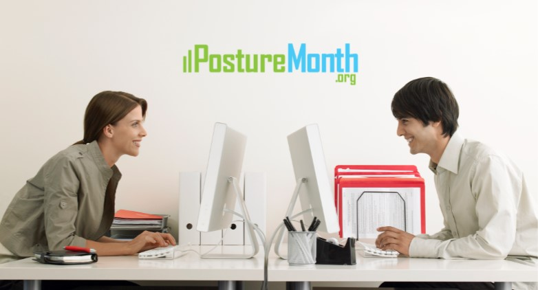 Tip 2 Sitting - 3 Steps to Sit Taller |  http://PostureMonth.org    http://PostureMonth.org   #workplacewellness   #sitting