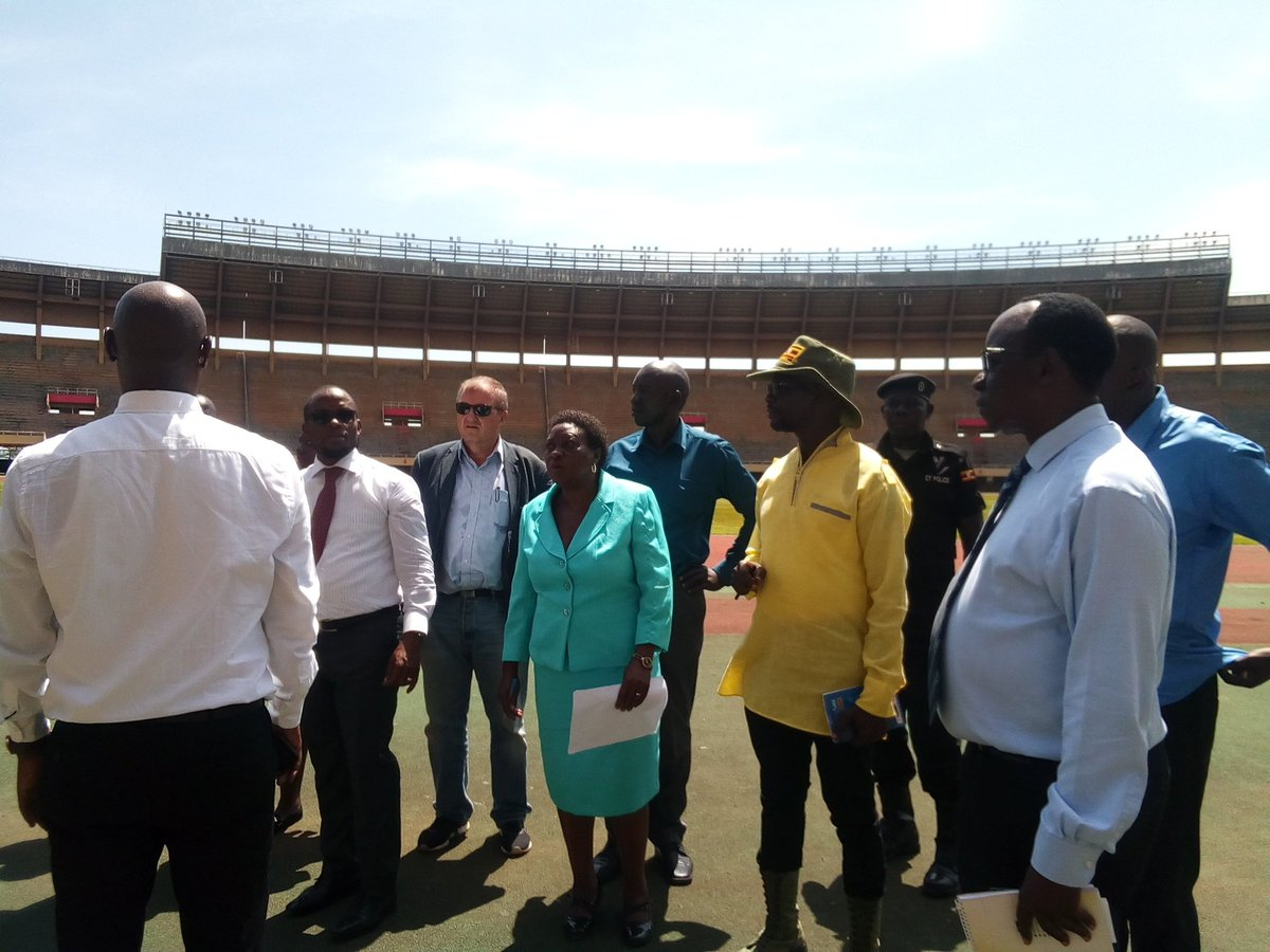 There is growing concern about the state of sports facilities and their safety. Today I visited Mandela National Stadium and Nakivubo Stadium to establish how best we can protect and improve these stadia.