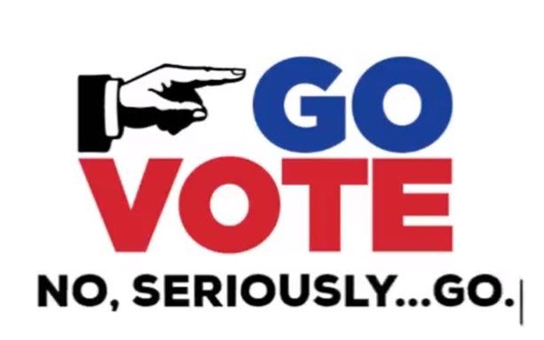 Today is Election Day in #Wisconsin. Go #Vote. #please #ThankYou
