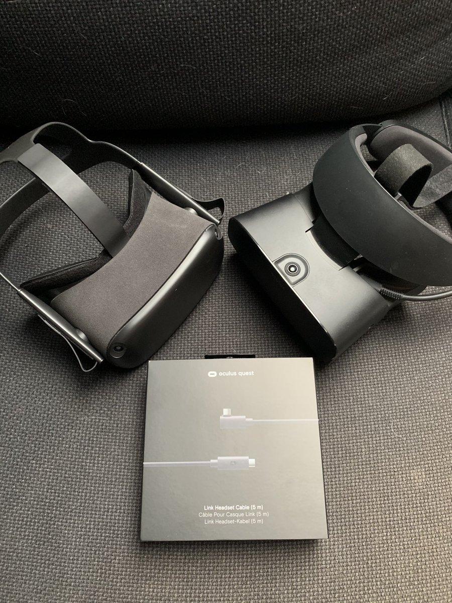 #OculusLink już jest, zaraz testy :) #vr
