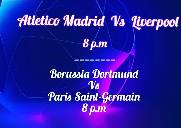 All the Champions league action tonight from 8 p.m