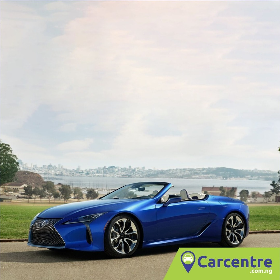 The 2021 Lexus LC 500 convertible was auctioned for a whopping $2 million which is about 22 times the retail price of $92,300. Do you think it's worth it? Can you pay for it? #carcentre #buycars #sellcars #usedcars #tokunbocars #foreignusedcars #newcarspic.twitter.com/bkyg92E3l0