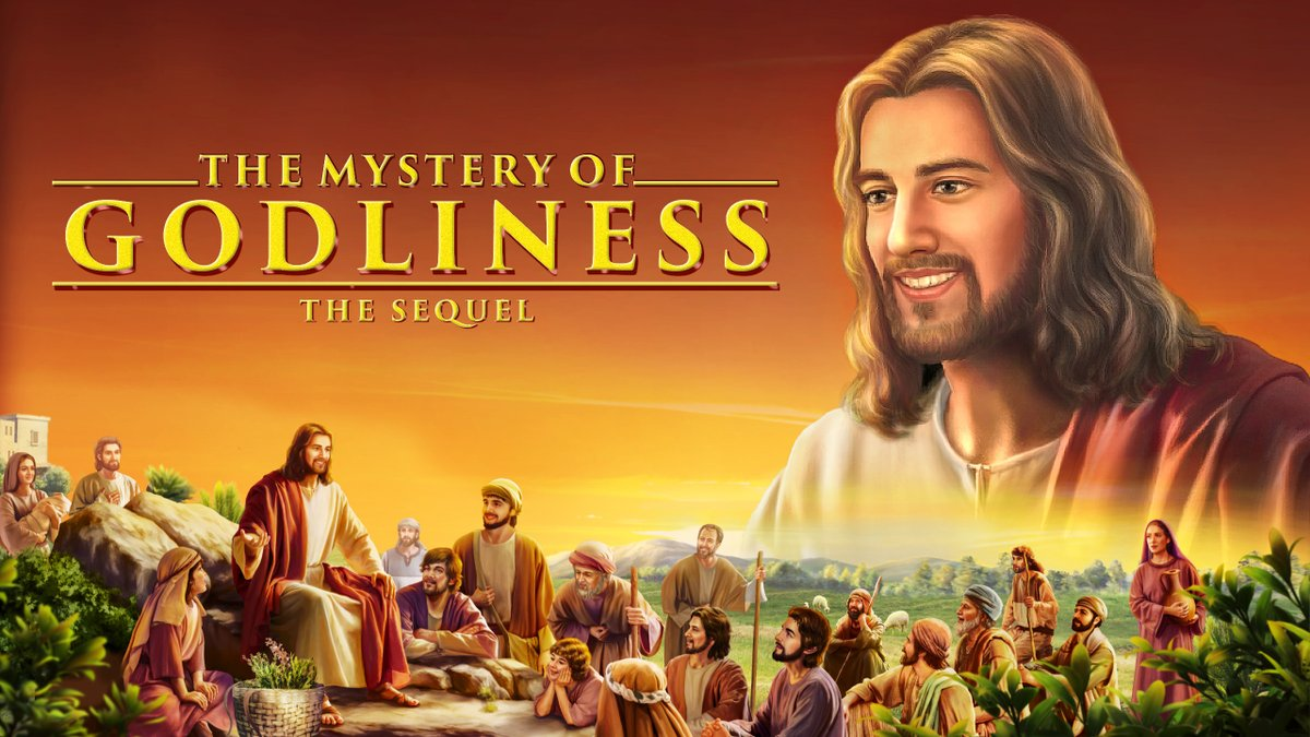 """The Mystery of Godliness: The Sequel"" (1) - How Will the Lord Appear to Man When He Comes Again? #jesuschrist #church #childrenofGod #AlmightyGod #voiceofGod   https://www. youtube.com/watch?v=-vyQ9Y Vly6g   … <br>http://pic.twitter.com/zxFPfZCmWd"