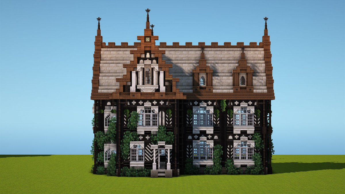 Still Build the samething,but with Timber Frame..#Minecraft #Miniaturia