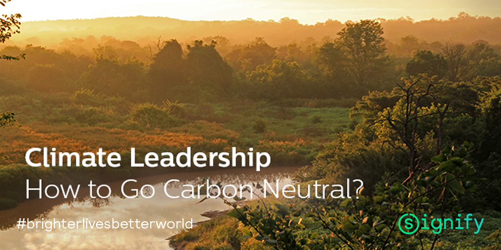 The 2020s will be the climate decade. Harry Verhaar, @Signifycompany's Head of Global Public and Government Affairs, discusses the importance of going carbon neutral and building a green economy. Read more: bit.ly/2GYh59v #brighterlivesbetterworld #leadership #reporting