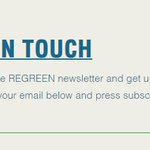 Image for the Tweet beginning: @REGREEN_nbs 1st newsletter coming out