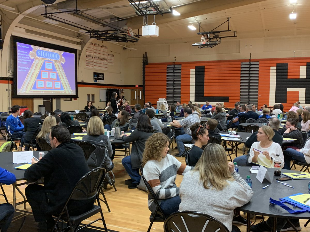 Yesterday was a great day of learning and reflection for our @District128 staff.  We spent the day deepening our understanding of how equity and inclusion are central to our DARING mission.  I'm grateful to the many staff & students who led this effort.