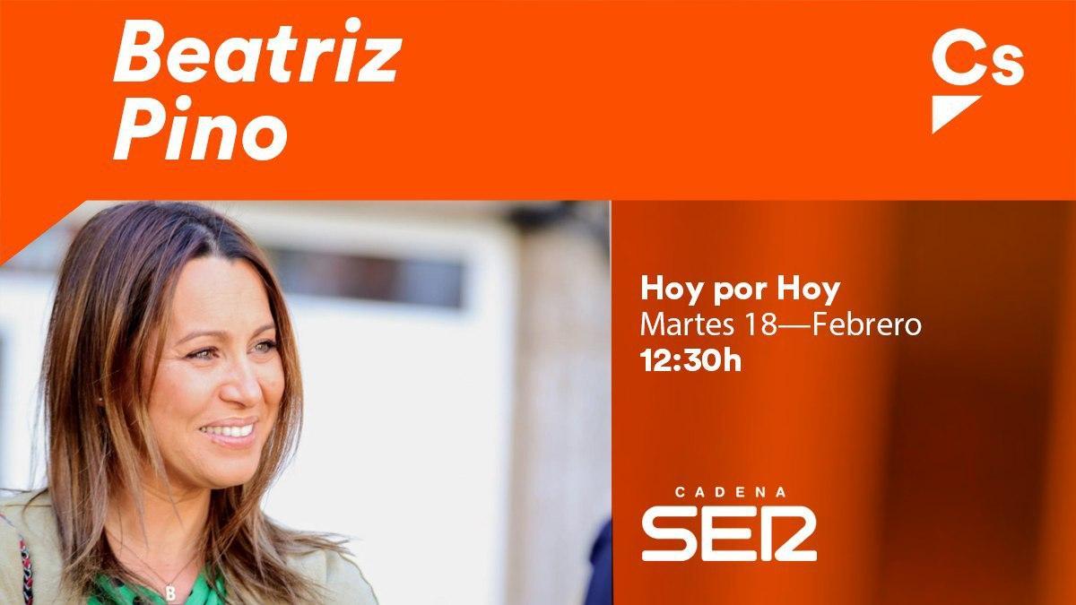 📻 Esta mañana, @Beatriz_Pino_ ha estado en @La_SER de #Vigo comentando la actualidad política. 👉 ¡Te dejamos un resumen a continuación!