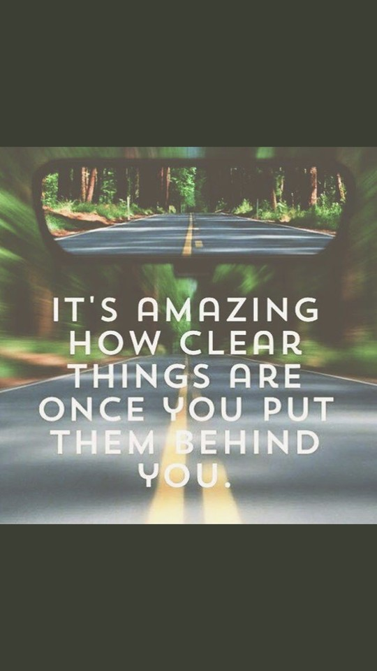 If you are going to move forward you have to stop looking back. #JoyfulLeaders #CelebrateMonday