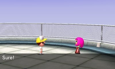 But in the end, Luna did find love, this time with Wario #TomodachiLife #3DS