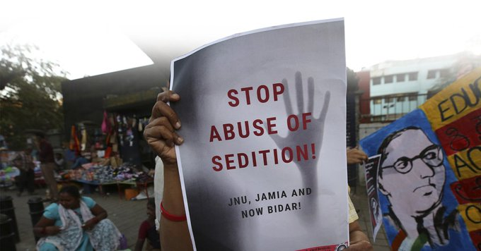 TOI Quick Edit | Sedition has to be removed from statute books http://bit.ly/37zvx2x