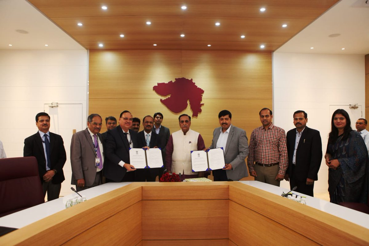 SBI signs MoU with Gujarat govt for for working capital availability to MSME entrepreneurs