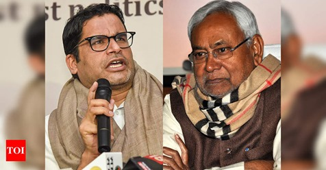Prashant Kishor questions Nitish Kumar's development model in Bihar; JD(U) hits back http://toi.in/Bzvn0a59/a24gk