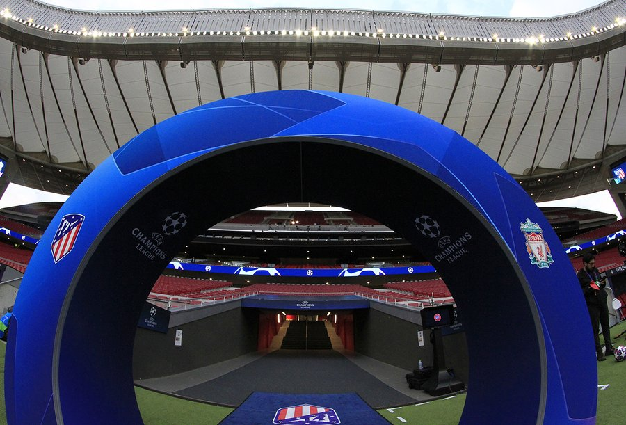 Les compos d'Atlético-Liverpool