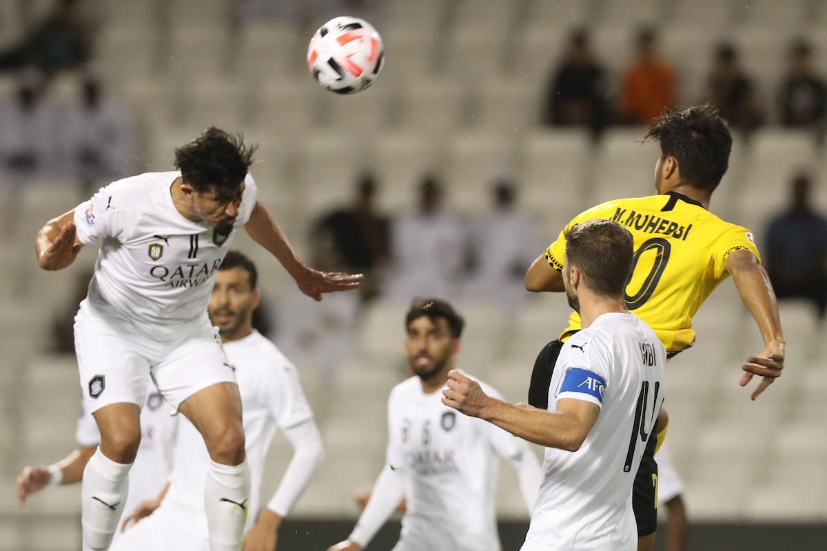 السد القطري يسحق سباهان اصفهان بثلاثية نظيفة في دوري أبطال آسيا