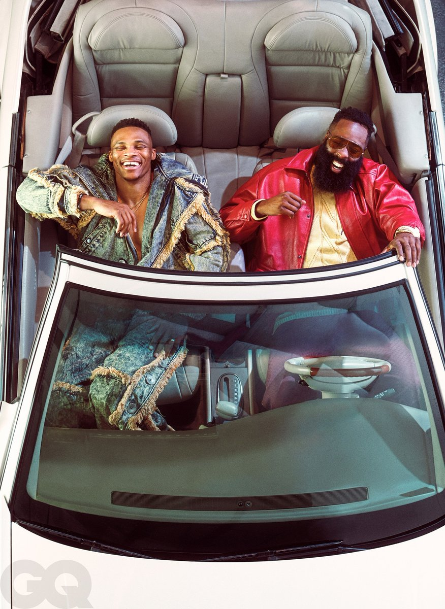 the GQ photos of russ and harden are incredible