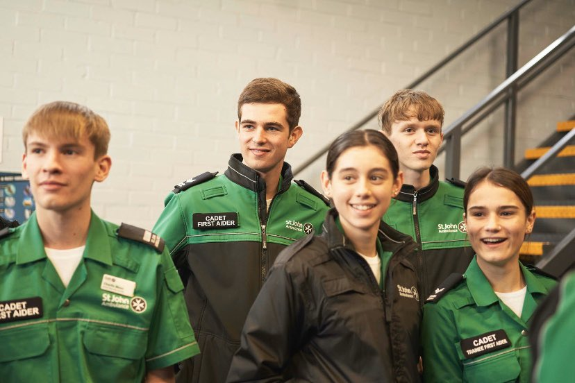 @CVQO thank you for having me, I wish I could do it all over again, Ive made friends for life and was pushed to learn and develop new skills that I will most certainly use in the future 💚 @SJAEastYouth @stjohnambulance