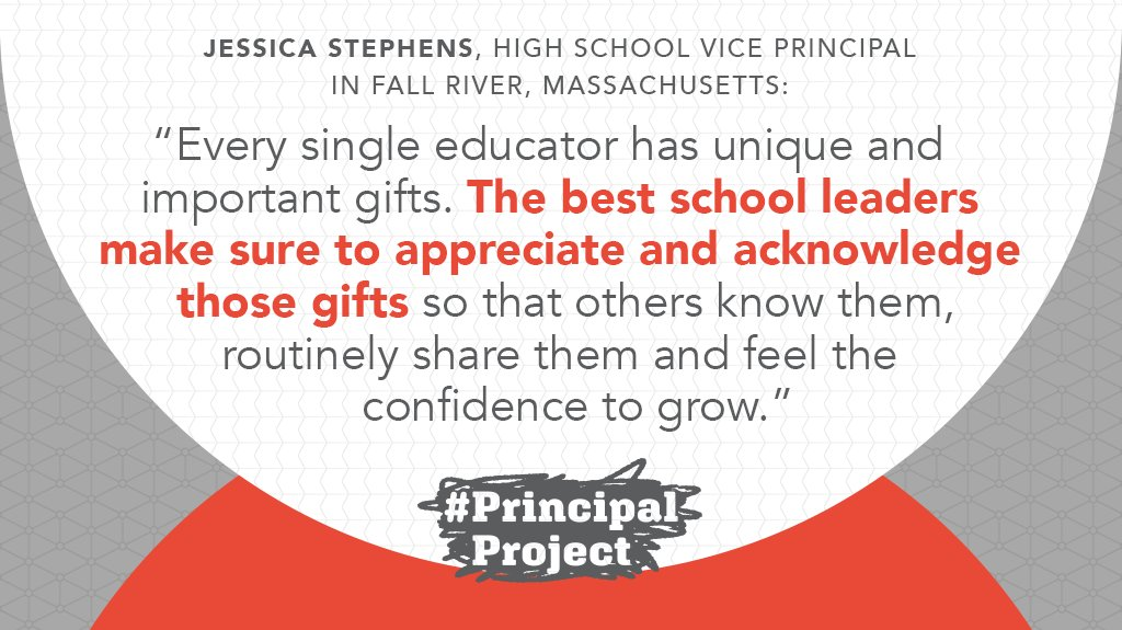 How will you celebrate your team's gifts this week, Ps?  (Inspiration via VP @DrJStephensVP) #PrinLeaderChatpic.twitter.com/3v62DtcGVg