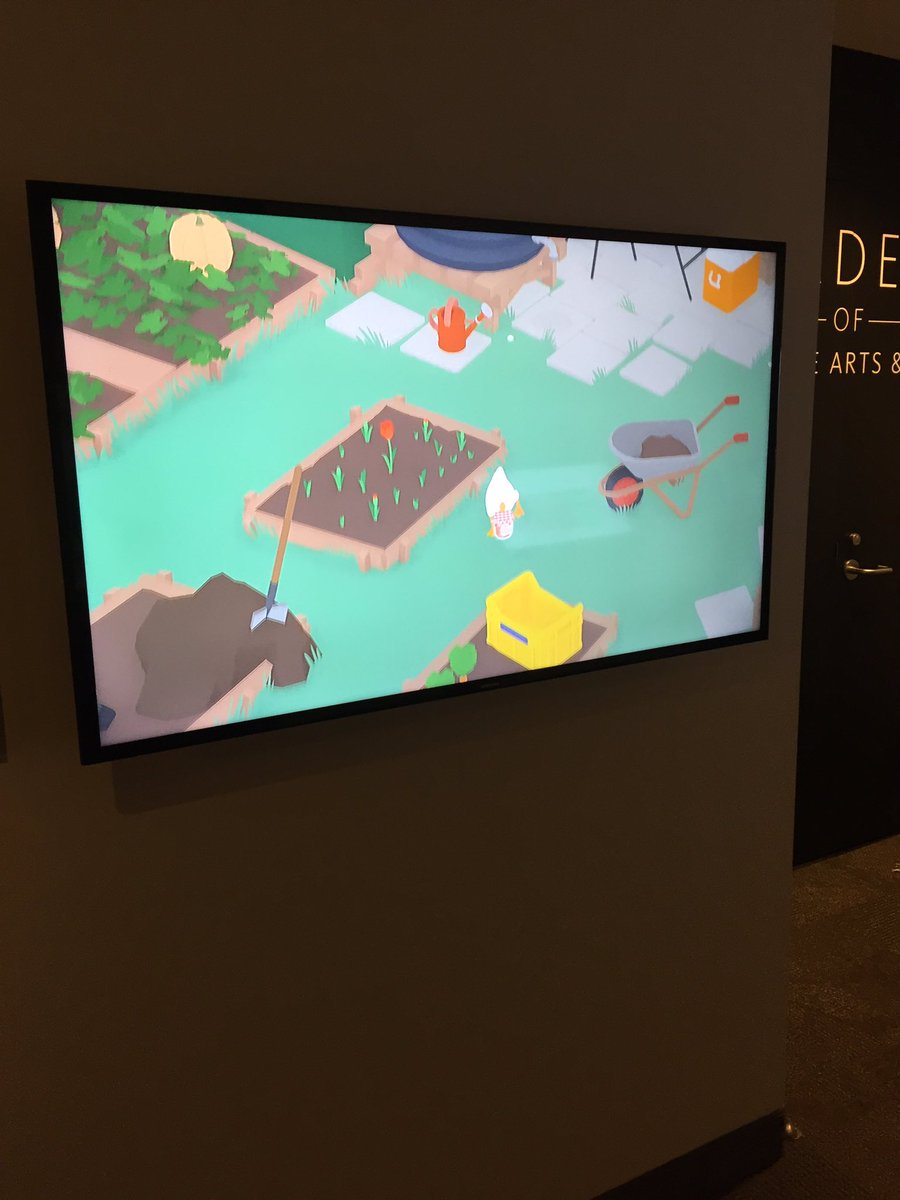 Thanks @Borman18 for already installing a video to honor Untitled Goose Game as the 2020 DICE Game of the Year award winner in our @Official_AIAS exhibit at @museumofplay that honors all previous DICE award winners!  @megganpez