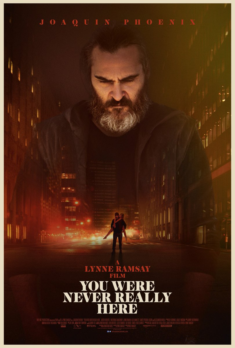 NEXT WEEK!  Make your own #JoaquinPhoenix Double Bill with #LynneRamsay's YOU WERE NEVER REALLY HERE (only £1 for PCC Members) followed by his #AcademyAward winning role in JOKER on #70mm!   See One or See Both!  Tickets Sold Separately: https://bit.ly/2UYcdJPpic.twitter.com/6UlsaeeEJr