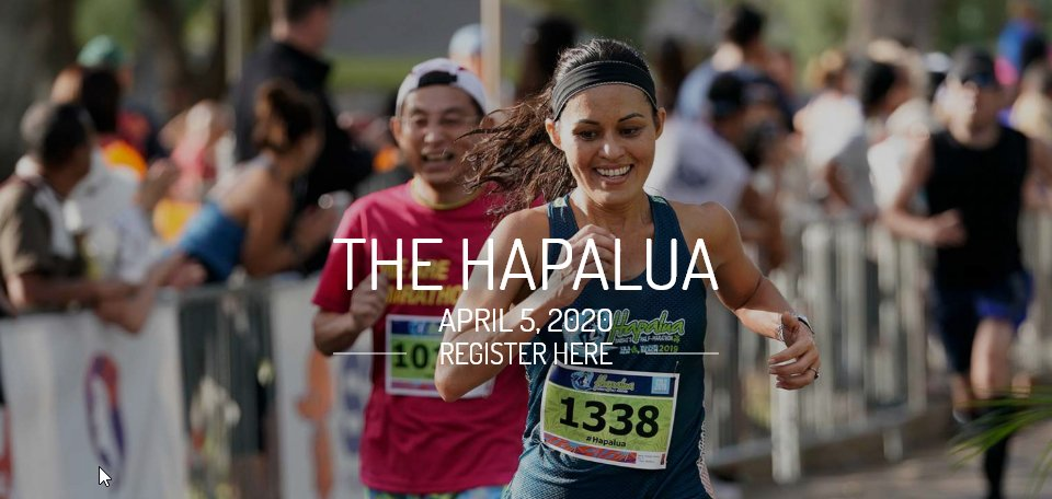 """Sign up for @TheHapalua TODAY and enjoy the training leading up to that island finishline on April 5th! Use the code """"BIBHAPA10"""" for 10% off registration and use the savings on a beachside cocktail  #bibchat #hapaluaBR #racecation #runcation #bibravepro <br>http://pic.twitter.com/KdVdBjajGA"""