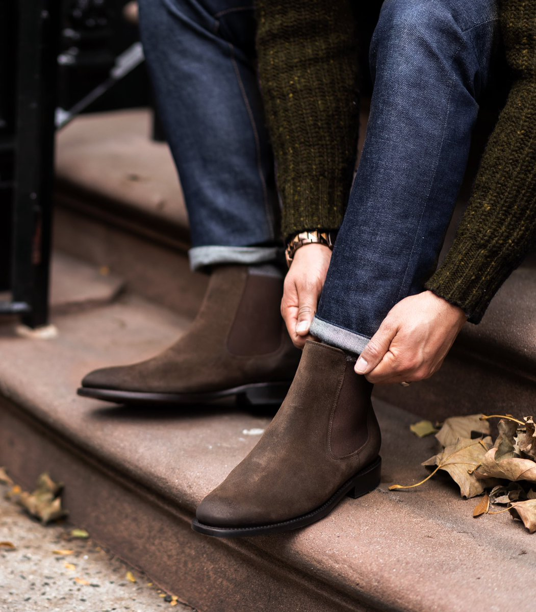 Back In Brown, Back In Stock, Back In Chocolate 🍫. 📸 @ishgarridophoto  #ThursdayBoots #Cavalier #SweetTooth